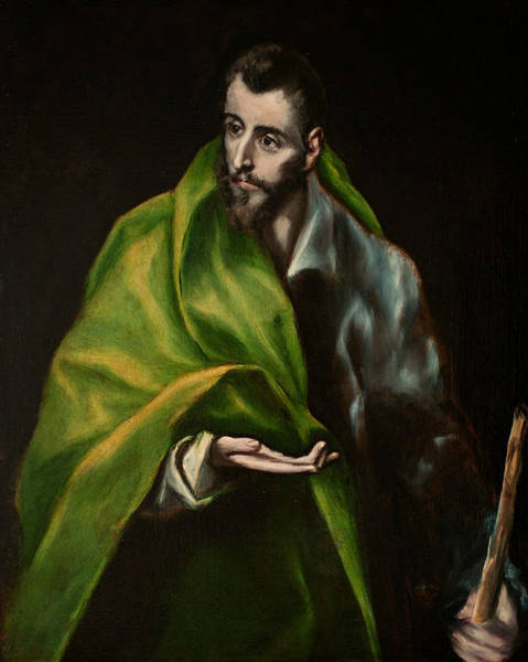 Renaissance Painters Wall Art - Painting - St. James The Greater by El Greco