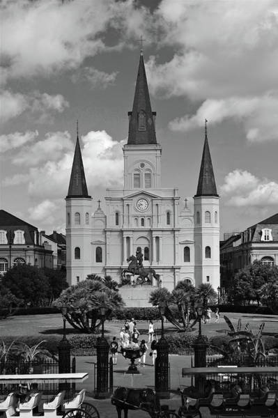 Wall Art - Photograph - St. Louis Cathedral by Chuck Johnson