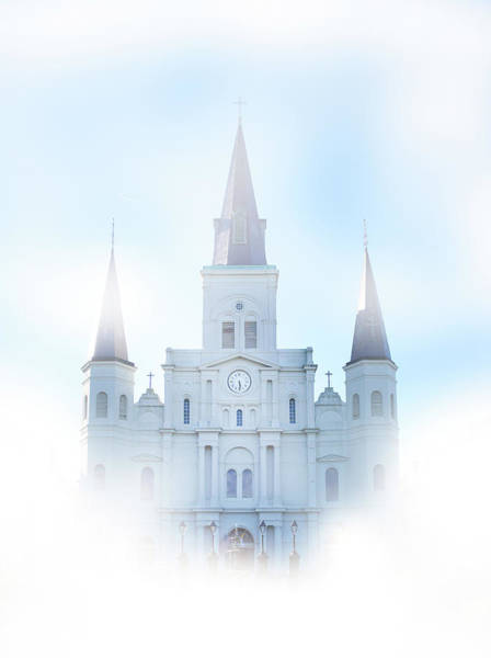 Wall Art - Photograph - St Louis Cathedral, New Orleans, by Art Spectrum