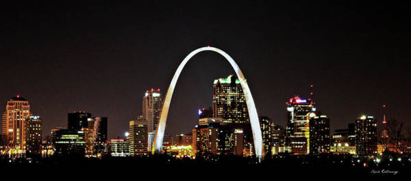 Photograph - St Louis Missouri Gateway Arch Art by Reid Callaway