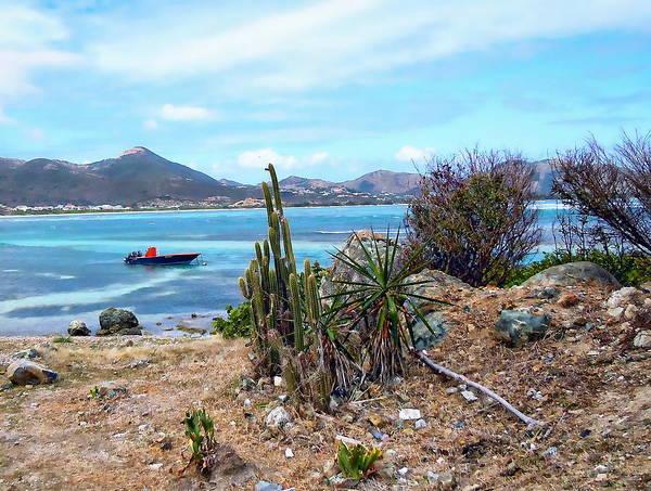 Photograph - St. Maarten Seascape by Anthony Dezenzio