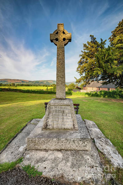 Wall Art - Photograph - St  Marcellas Celtic Cross by Adrian Evans