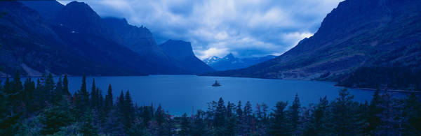 Wall Art - Photograph - St. Mary Lake, Glacier National Park by Panoramic Images