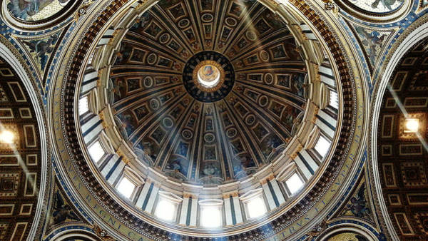Digital Art - St Peter's Dome by Julian Perry