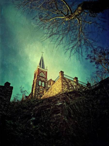 Photograph - St. Peter's Harpers Ferry by Chris Montcalmo
