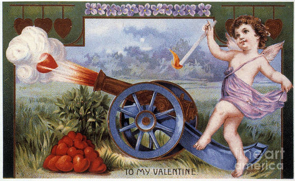 Photograph - St. Valentines Day Card by Granger