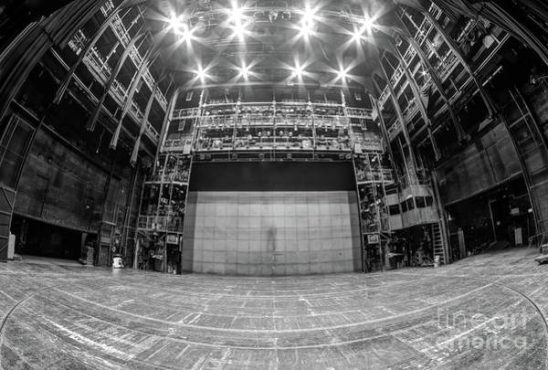 Wall Art - Photograph - Stage In The Abandoned Theatre by Michal Boubin