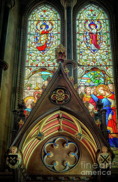 Photograph - Stained Glass Window by Adrian Evans