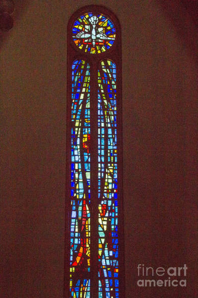 Photograph - Stained Glass Window by William Norton