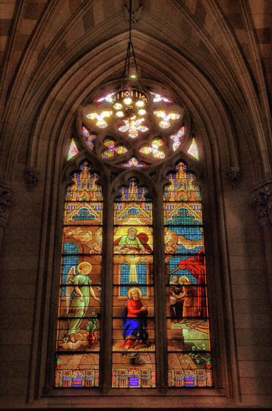 Photograph - Stained Glass Windows by Jessica Jenney