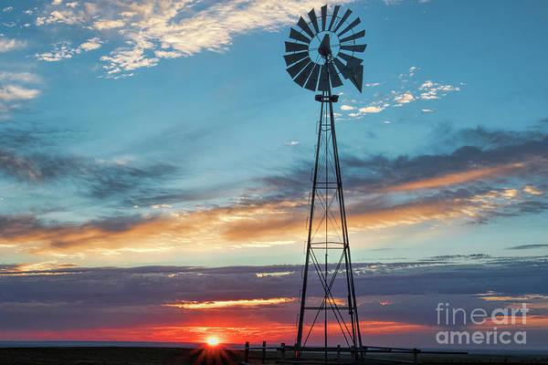 Photograph - Prairie Station by Jim Garrison