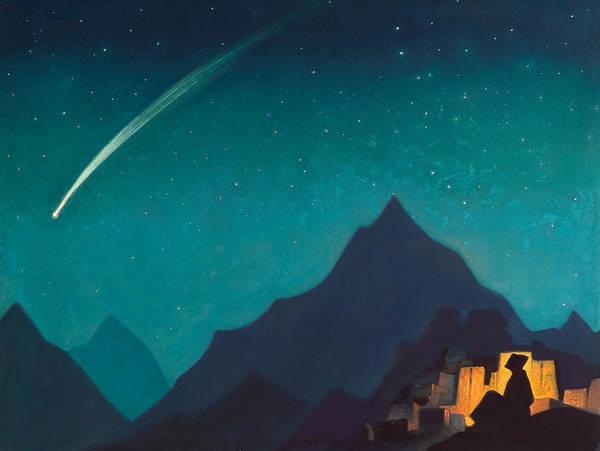Metaphor Painting - Star Of The Hero by Nicholas Roerich