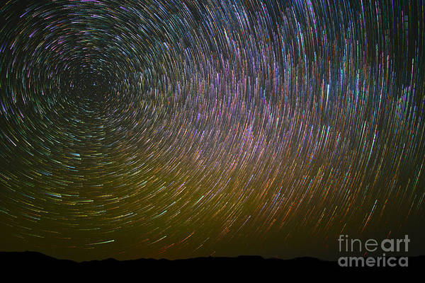 Photograph - Star Trail by Mark Jackson