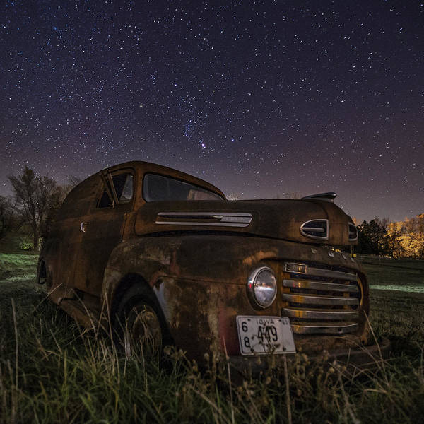 Wall Art - Photograph - Stardust And Rust  by Aaron J Groen