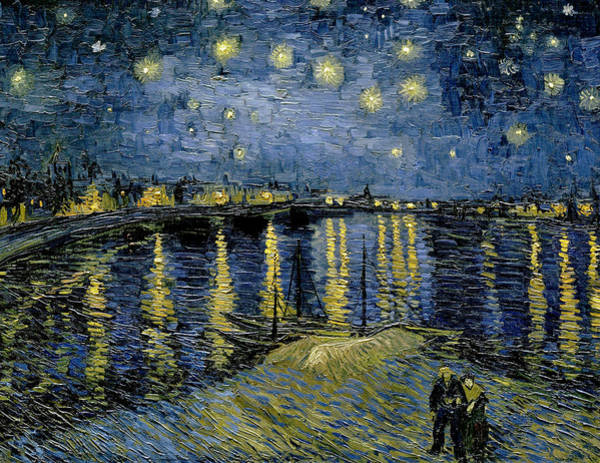 Painting - Starry Night by Vincent van Gogh