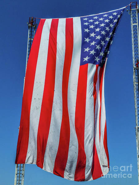 In God We Trust Photograph - Stars And Stripes by Tony Baca