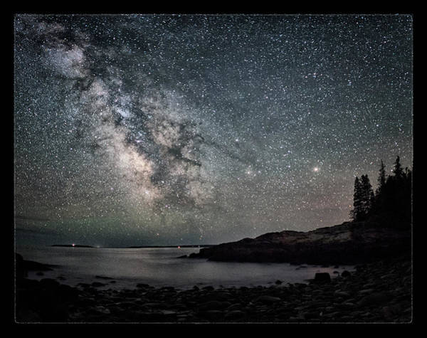 Acadia National Park Wall Art - Photograph - Stars Over Acadia by Robert Fawcett