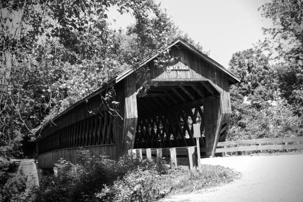 Kingsville Photograph - State Road Covered Bridge by Phyllis Taylor