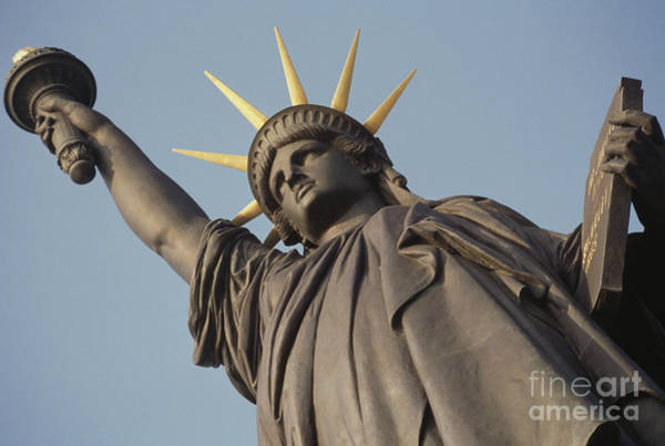 Wall Art - Photograph - Statue Of Liberty by Auguste Bartholdi