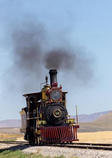 Photograph - Steam Engine by Michael Chatt