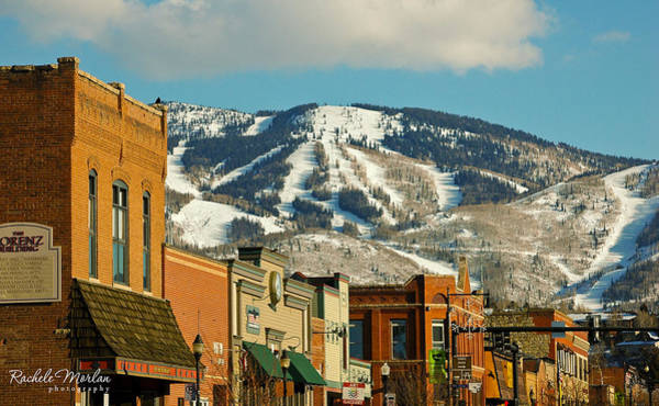 Ski Run Wall Art - Photograph - Steamboat Springs by Rachele Morlan