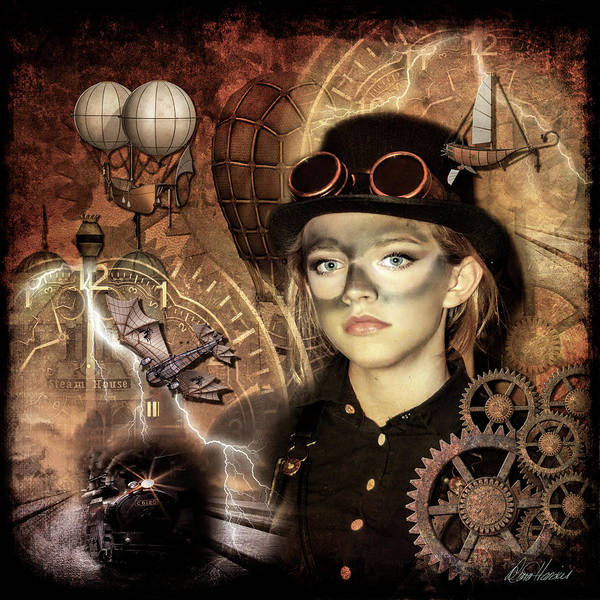 Photograph - Steampunk Princess by Diana Haronis