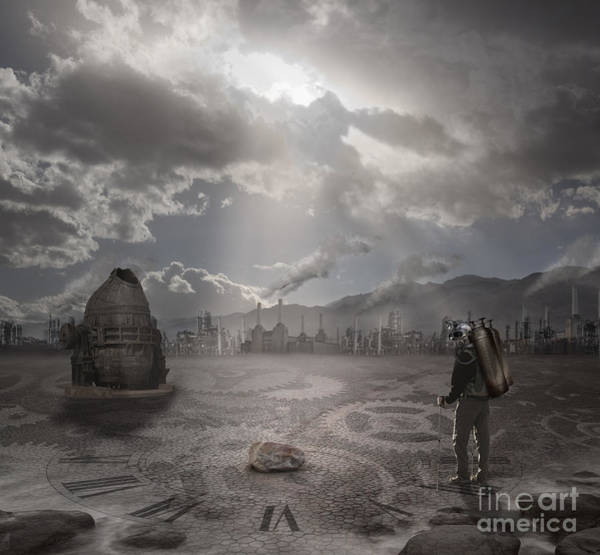 Death Valley Photograph - Steampunk Traveler by Keith Kapple
