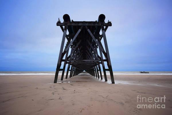 North Sea Photograph - Steetley Pier by Smart Aviation