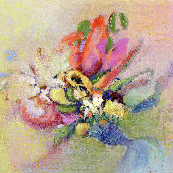 Pastel - Stepping Out by Betsy Derrick