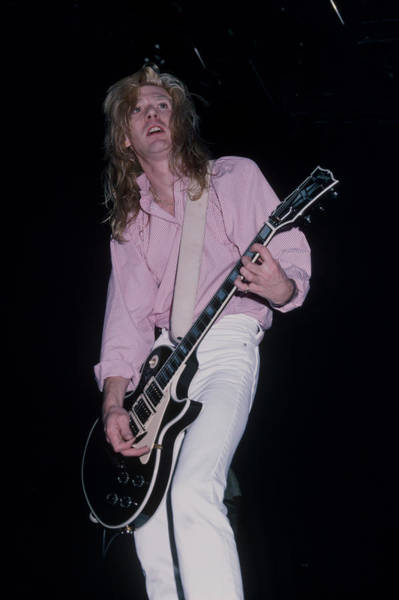 Photograph - Steve Clark by Rich Fuscia