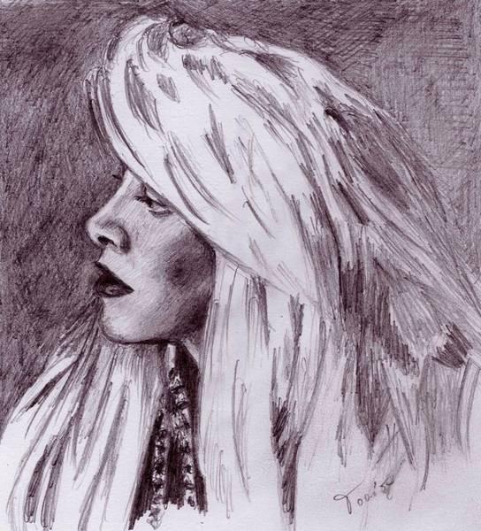 Drawing - Stevie Nicks by Toon De Zwart