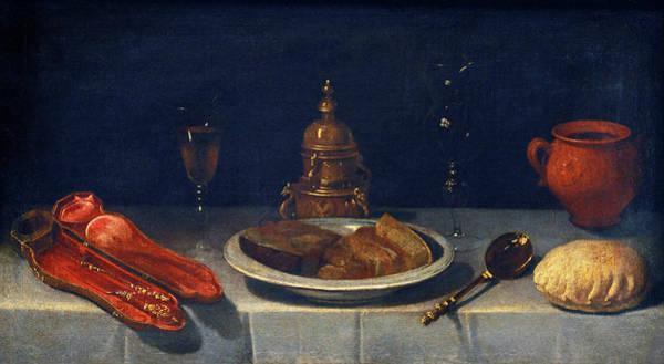 Painting - Still Life And Laid Table by Juan van der Hamen