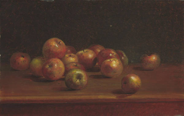 Painting - Still Life With Apples by Charles Ethan Porter