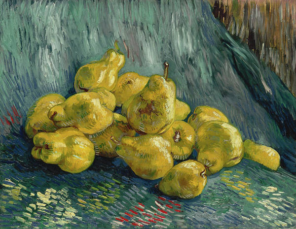 Painting - Still Life With Quinces by Vincent van Gogh