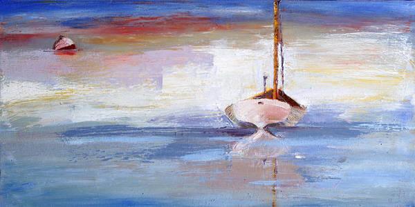 Painting - Stillness by Trina Teele