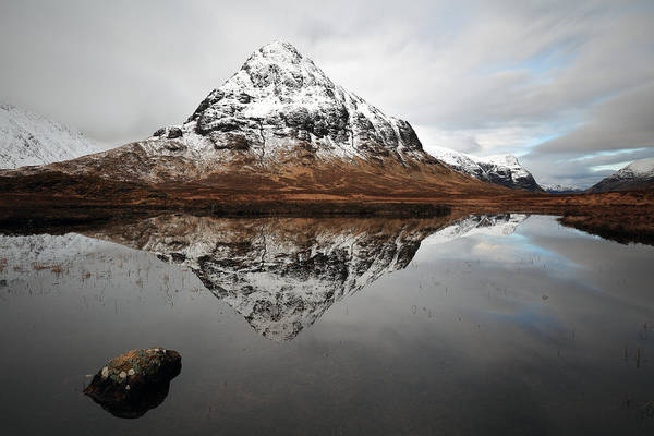 Wall Art - Photograph - Stob Coire Raineach by Grant Glendinning