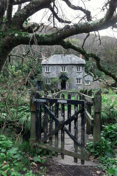 North Devon Wall Art - Photograph - Stone Cottage by Joana Kruse