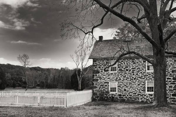 Photograph - Stone Farmhouse by Mick Burkey