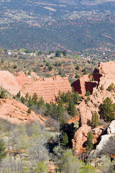 Photograph - Stone Quarry At Red Rock Canyon Open Space Park by Steve Krull