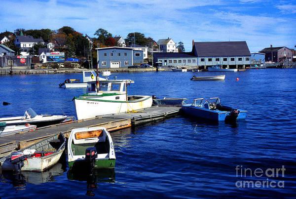 Photograph - Stonington Harbor Deer Isle by Thomas R Fletcher