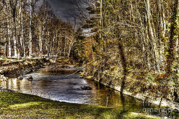Photograph - Stony Brook by William Norton