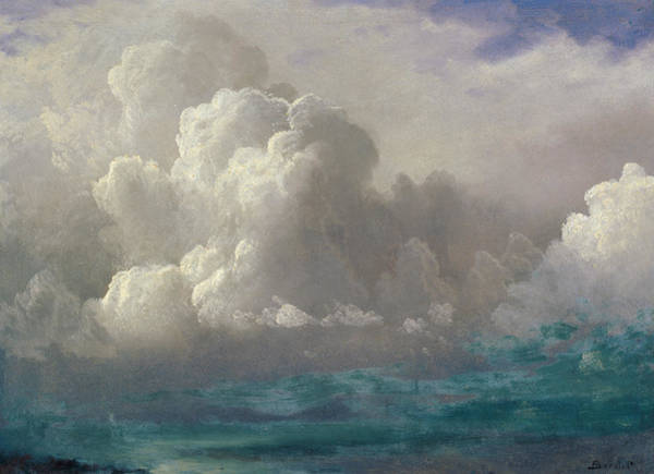 Painting - Storm Clouds by Albert Bierstadt