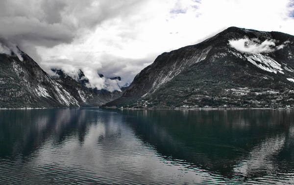 Photograph - Storm In The Fiord by David Resnikoff