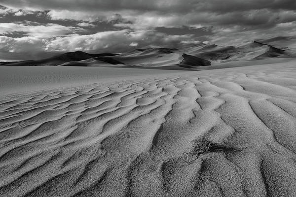 Photograph - Storm Over Sand Dunes by TM Schultze