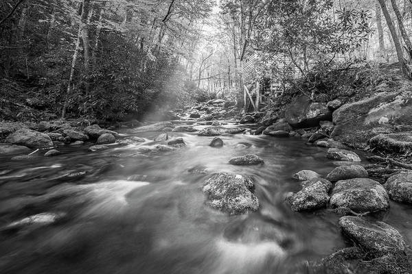 Photograph - Stream In The Smokies by Jon Glaser