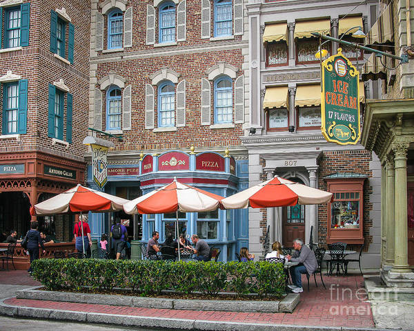 Wall Art - Photograph - Street Cafe by Perry Webster