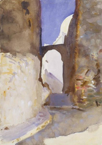 Drawing - Street, Tangier by John Singer Sargent