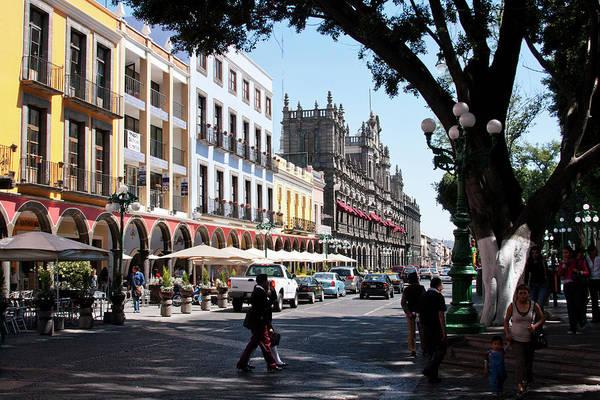Photograph - Streets Of Puebla 5 by Lee Santa