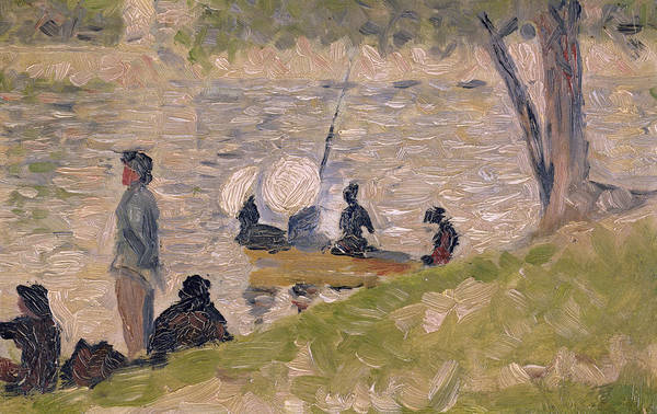 Sunday Painting - Study For Sunday Afternoon On The Island Of La Grand Jatte by Georges Pierre Seurat