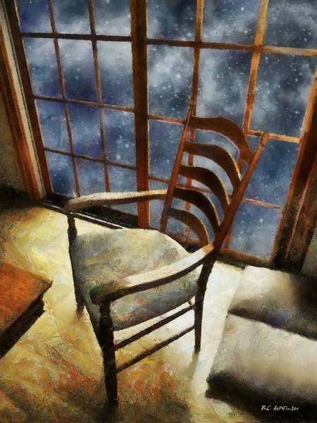 Painting - Study In Moonlight by RC DeWinter